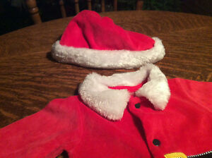 Santa Clause Outfit (Sleeper) with hat Cambridge Kitchener Area image 3