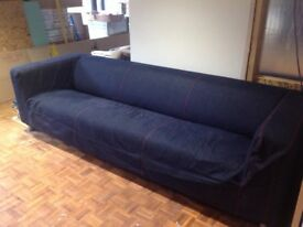 Ikea Klippan 4 seater sofa (rare as now discontinued!)