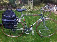 "Retro Puch tourer road bike, 21"" frame"