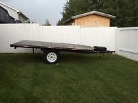 12 FT Double A Quad/Sled trailer