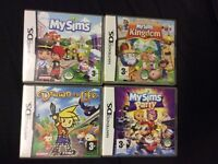 Nintendo DS My sims games