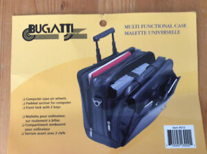 Bugatti Rolling Travel Laptop/Business Case