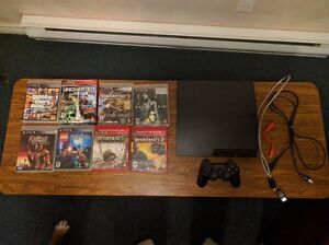 Playstation 3 Slim (PS3) 320GB + 9 games