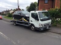 MITSUBISHI CANTER RECOVERY TRUCK TURBO DIESEL 6.5 TONNES 58 PLATE