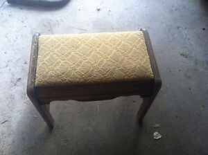 Old foot stool
