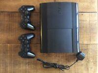 Playstation 3 (slim) 500gb + 6 games