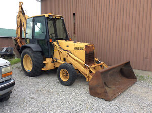 Ford New Holland 655 D Tractor Loader Backhoe