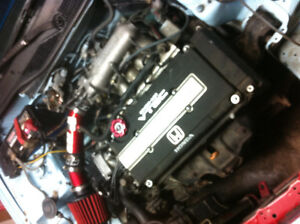 JDM B16A with GSR transmission in civic