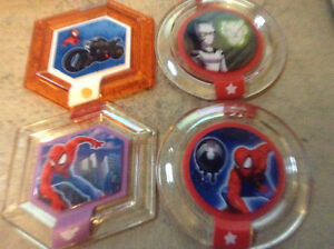 4 2.0 Marvel Power Discs. Sold as set.