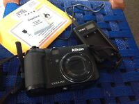 Nikon coolpix p6000 Digital camera 13.5mp