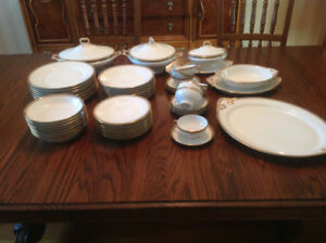 Limoge Dishes...dinnerware set