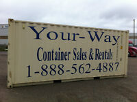 Orillia 20' & 40' storage containers for rent