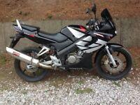 Honda CBR 125cc 12months mot