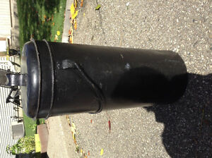 VERY RARE GALT CREAMERY TALL MILK CAN EMBOSSED IN METAL Cambridge Kitchener Area image 2