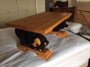 Bear coffee table for sale