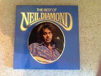 Box set of 4 Neil Diamond LP Records
