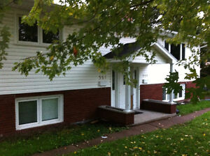 2 Bed bottom duplex for rent! Ever included, available  Aug 1s!!