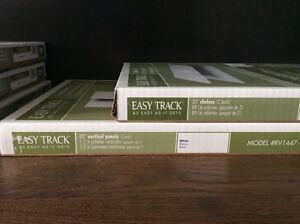 Martha Stewart Easy Track shelves and uprights London Ontario image 2