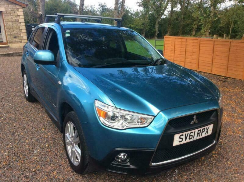 1 OWNER FROM NEW ASX 3 CLEAR TEC DIESEL 4X4, 11 STAMP SERVICE HISTORY, NICE CAR