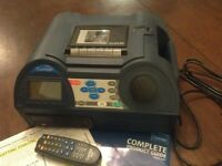 Coomber 6021 CD & cassette real time recorder player.