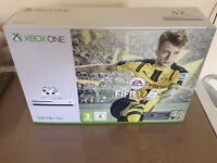 Xbox one S with Fifa 17 **BRAND NEW IN SEALED BOX **