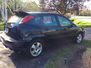 2007 Black Ford Focus