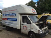 Vw lt35 Luton van with tail lift spares or repairs