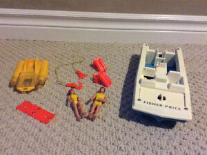 Vintage Fisher Price Sea Explorer set from 1970's