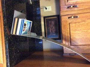 Metal Checkmark-Shaped Video/CD Shelf  (28 inches) Regina Regina Area image 4