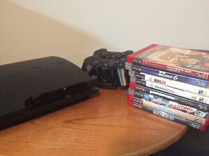 Great bundle PS3 + 8 games+