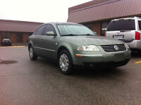 2002 Volkswagen Passat GLS 1.8T Sedan - AS IS - ONLY $1500