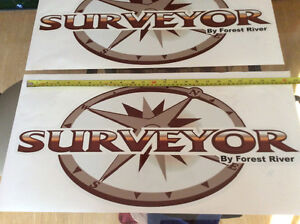 Surveyor by Forest River decals