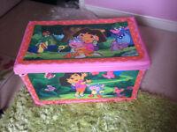 Dora the Explorer toy chest