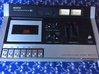 Sony stereo cassette recorder player TC135SD