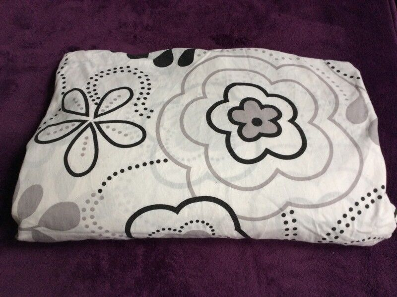 Double duvet cover with 2 pillowcases