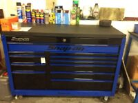 "Snap-on 55"" roll cab tool box"