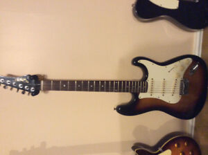 Guitare Style Stratocaster avec pick up Fender 58