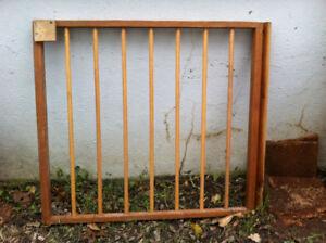 Wooden door gate