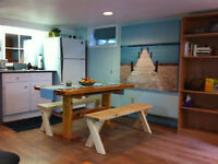 LAKEFIELD/OCT 1: Fully Furnished/All Inclusive Basement Suite