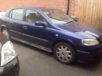 Vauxhall Astra automatic 1.6 saloon '53 plate