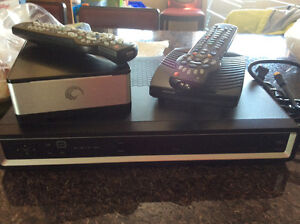 Shaw HD PVR  ,Expander and basic cable box