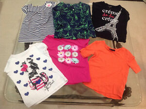 Girls size 6 summer shirts