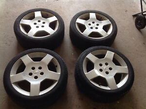 """Chevy SS 17"""" Tires and Rims"""