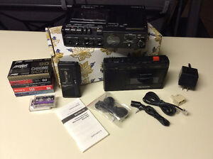 PROFESSIONAL CASSETTE RECORDER PACKAGE