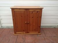 Pine 2 door cupboard