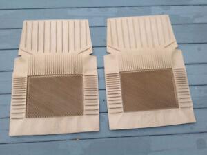 Ensemble de tapis d'auto sauve pantalon - 2 pièces - beige