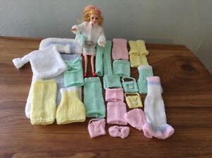 Vêtements de BARBIE tricotés