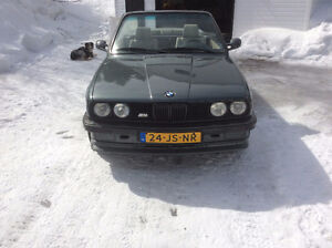BMW 325I 1987 CONVERTIBLE