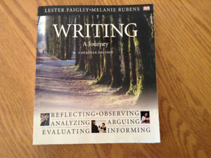 Writing A Journey: Canadian Edition