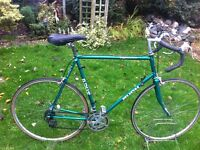 "Retro Puch Tour de France road bike 25"" frame"
